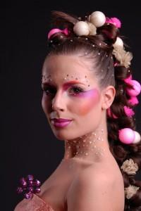 Balerina verseny smink - Sminkes: Réti Dóra