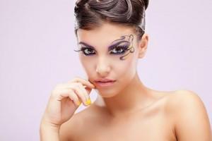 Fantázia smink - sminkes: Réti Dóra